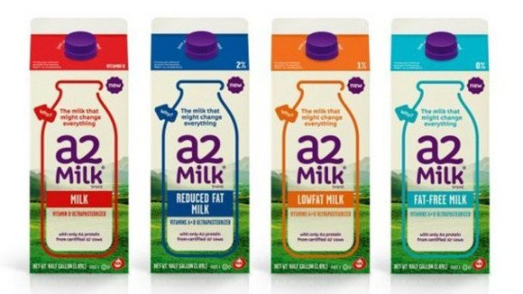 Cartoni di latte A2