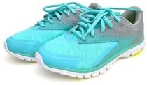 Scarpe da corsa blu acqua