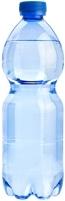 Bottiglia d'acqua blu