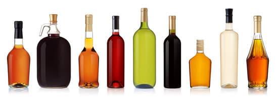 Bottiglie Di Alcol