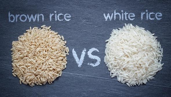 Riso integrale vs riso bianco