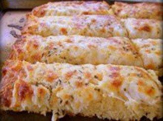 Pane Al Formaggio All'aglio