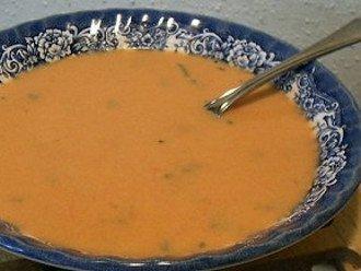 zuppa cremosa al pomodoro