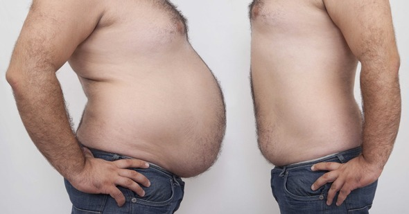 Pance grasse e magre