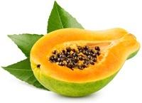 Mezza papaia verde