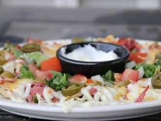 Macho Nacho Salad