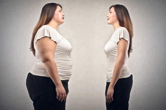 Donna obesa vs magra