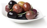 Olive Con Colori Diversi
