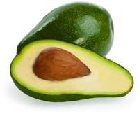 Uno e mezzo avocado verde