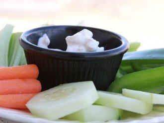 Salsa di formaggio blu semplice