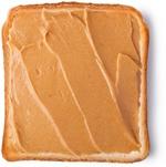 Fetta di pane con burro di arachidi