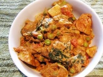 Curry di patate piccanti