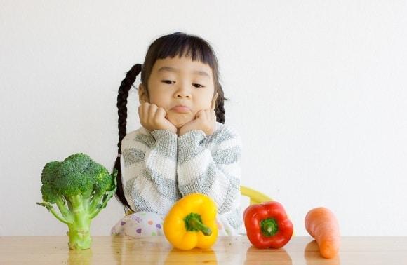 Ragazza Con Le Verdure